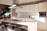 Мебель Yb1707046 кухни новой оптовой продажи конструкции высокая лоснистая