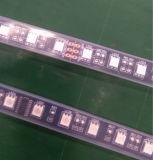 TM1812 SMD 유연한 12V 까만 PCB 까만 LED 지구