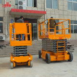 Levage électrique hydraulique de ciseaux de plate-forme mobile de travail aérien de construction