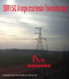 Megatro 500kv 5A2 J4 sceglie la torretta della trasmissione di tensionamento del circuito