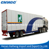 세 배 Axles 밴 또는 무겁 의무 Suspension를 가진 Cargo Box Semi Trailer
