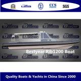 Bestyear Rib1200のボート