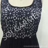 Платье прогара нового типа шифоновое безрукавный для повелительницы (DR-41)