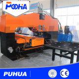 Специальная тяжелая машина CNC стальной плиты гидровлическая пробивая