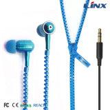 Buona qualità in trasduttore auricolare della chiusura lampo del metallo dell'orecchio per il iPhone