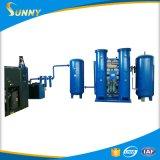 Corte industrial medio elevado y soldadura de la planta del oxígeno de la pureza el 93%~99%