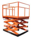 倉庫のための物品取扱いの上昇表の持ち上げ装置を使用して