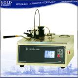 Appareil de contrôle ouvert Semi-Automatique de point d'inflammabilité de tasse de Coc Cleveland de produits pétroliers Gd-3536-1