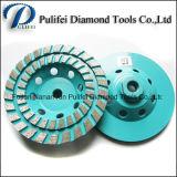 Meule de segment de diamant d'étage de découpage du disque concret 4 de cuvette ''