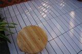 Carrelage de verrouillage en plastique des graines en bois pour le jardin