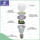 bombilla global de 9W E27 LED con el Ce RoHS