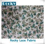 Tessuti belli del merletto dell'abito del jacquard dei tessuti di stirata di stampa