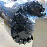 Cilindro hidráulico telescópico de China para la máquina de la prensa