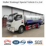 8ton 6cbm Dongfeng Euro 4 tanque de agua de aspersión de camiones