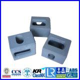 Herrajes de esquina de envase ISO1161/Br del Tl Tr Bl de los bastidores de Conrner del envase