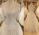 Neues Ankunfts-Hochzeits-Kleid 2017 mit Hülsen