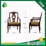 Heißer verkaufenOchrosia Coccinea preiswerter klassischer König Throne Chair für Aufenthaltsraum