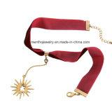 Collar pendiente de las mujeres pendientes de la nueva de la manera estrella simple de la cinta