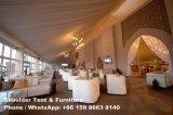 Barraca grande do partido com decoração/tabela/cadeira/iluminação
