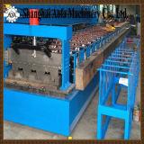 A folha da plataforma lamina a formação da máquina
