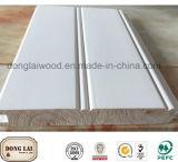 Pavimentazione di legno solido di alta qualità del Hemlock e comitato di parete moderni