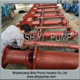 원심 슬러리 펌프를 취급하는 수직 물 처리 유출물