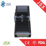 Jsx-3015D projetam recentemente a máquina da marcação do laser da fibra da estaca do metal dos acessórios de Alemanha