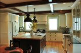 Moderne feste hölzerne Luxuxentwürfe der Küche-Schrank-Küche-Schränke Craigslist