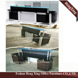 (HX-5N048) Couleur blanche L meubles de bureau de mélamine de bureau de forme