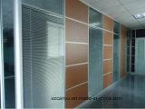 Glashotel-Trennwand mit neuem Entwurf