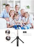 Selfie tenuto in mano allungabile Monopod/bastone di Selfie del triangolo del bastone di Selfie collegato cavo più poco costoso prezzi di fabbrica