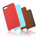 Caja original del teléfono móvil de la PU del cuero de la alta calidad entera para iPhone7
