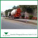 De Weegbrug van de Schaal van de vrachtwagen voor de Vrachtwagen van de Benzine