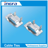 201 304 316 Acero inoxidable Banda de la atadura de cables
