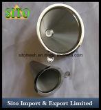 Filtro del cono del acero inoxidable, filtro de café perforado