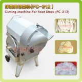 スライサー機械(FC-312)をスライスするフルーツプロセッサのルート野菜のパイナップル立方体のカッター/ポテト