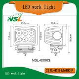 4X4 weg Arbeits-dem Licht von der Straßen-60W LED für LKW