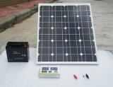 Двойник подготовляет солнечный свет с батареей лития