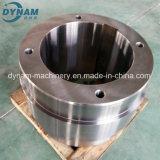 Precisione che lavora la rotella alla macchina interna lavorante della parte d'acciaio di pezzo fucinato di CNC