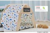 漫画動物犬のテントの印刷のマツ木犬小屋