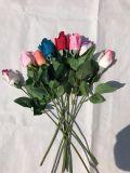 고품질 결혼식 훈장을%s 실제적인 접촉 인공 꽃 로즈 새싹 가짜 꽃