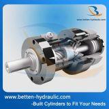 Atuador rotativo elétrico a motor de dupla ação