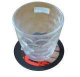 원형 Eco-Friendly 고무 컵 연안 무역선 마우스 패드