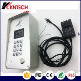 SIP 2.0 Puerta de intercomunicación Knzd-51 IP portero automático de voz