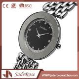 Grande orologio del quarzo dell'acciaio inossidabile della manopola con unisex