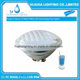 Luz teledirigida embutida de la piscina del bulbo del RGB LED PAR56