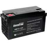 Batteria 12V100ah del gel per il sistema di energia solare o l'indicatore luminoso di via