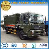 carro del transporte de la basura 180HP carro de basura comprimido de 10 T