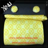 完全な結び目のハンドメイドの絹の編まれたギフトのカフスボタンのタイセット