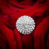 Pin nuziale dei monili del fiore del mazzo del Rhinestone